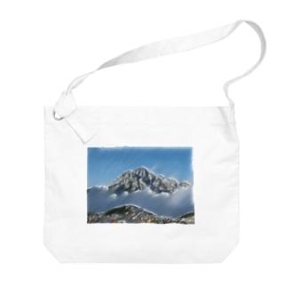 雲海の劔岳 Big shoulder bags
