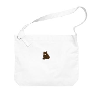 くまさん Big shoulder bags