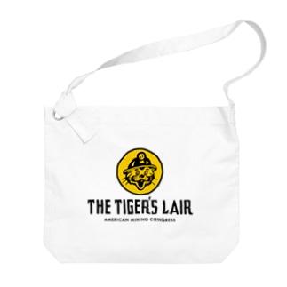 THE TIGER'S LAIR Big Shoulder Bag