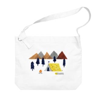 キャンプ Big shoulder bags