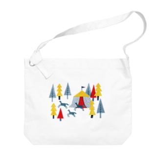 サーカスの森 Big shoulder bags