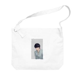 白冬 Big shoulder bags