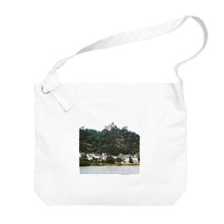 ドイツ:シェーンブルク城 Germany: Schönburg am Rhein Big shoulder bags