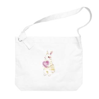 きゅんきゅんうさぎ Big shoulder bags