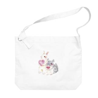 きゅんきゅん Big shoulder bags