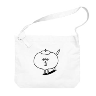 かきねこちゃん Big shoulder bags