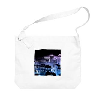 イマソラ Big shoulder bags