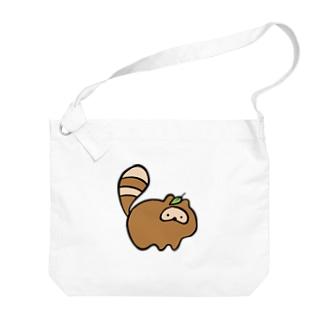 たぬ Big shoulder bags