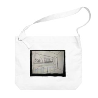 カフェキッチンパース Big shoulder bags