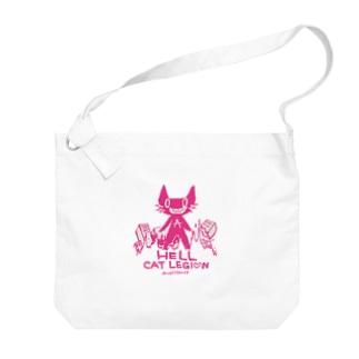 HELL CAT REGION Big shoulder bags