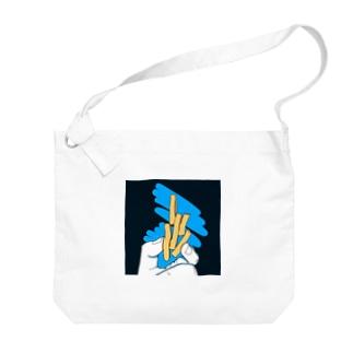 ポテト?芋けんぴ?芋けんぴ! Big shoulder bags