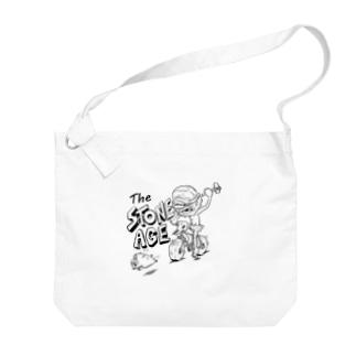 """""""The STONE AGE"""" #1 Big Shoulder Bag"""