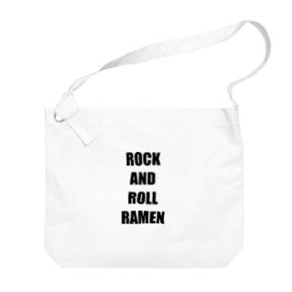 ROCK AND ROLL RAMEN Big shoulder bags