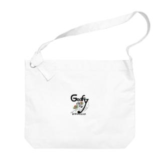 グーフィーちゃん Big shoulder bags