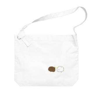 カフェオーレ Big Shoulder Bag
