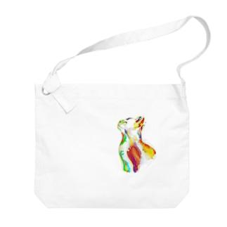 マチカ Big shoulder bags