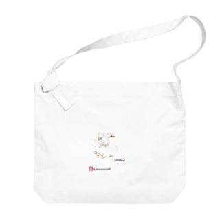 ペルシャ猫の横顔 Big shoulder bags