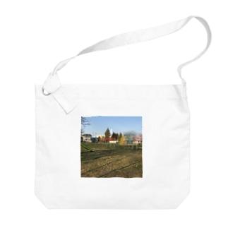 ブランコと公園 Big shoulder bags