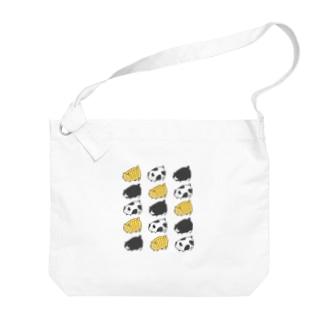 デブ猫 Big shoulder bags