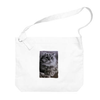 maronn Big shoulder bags