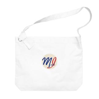 モストアイNewロゴ Big shoulder bags