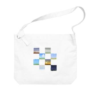 草のある景色 Big shoulder bags