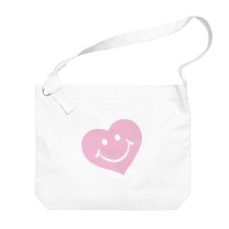 スマイルハート♡ Big shoulder bags