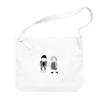 JIJIBABA Big shoulder bags