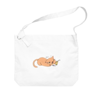 ぴぇん猫 Big shoulder bags