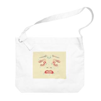 んぎぎ・・・ Big shoulder bags