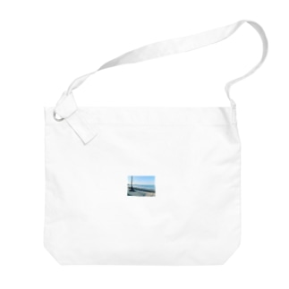 海岸のひととき Big shoulder bags