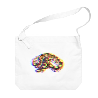 """""""BROKEN"""" Python regius Big shoulder bags"""