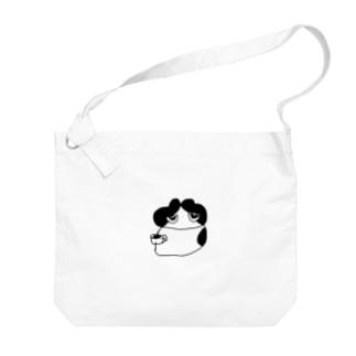 奈良のすごいタオル屋さんの副店長 Big shoulder bags