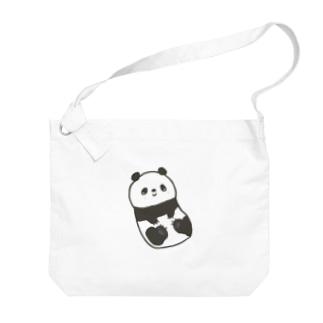 ころころパンダ Big shoulder bags