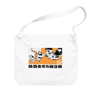 足元 Big shoulder bags