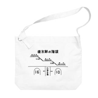 熊ノ平駅観光案内看板(下地無し) Big shoulder bags