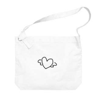 ハートエンジェル Big shoulder bags