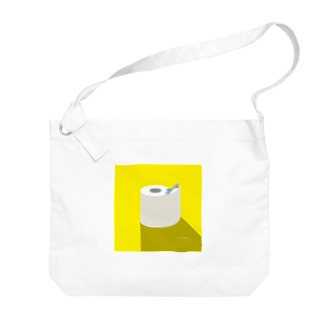 昼のSAME Paper Big shoulder bags