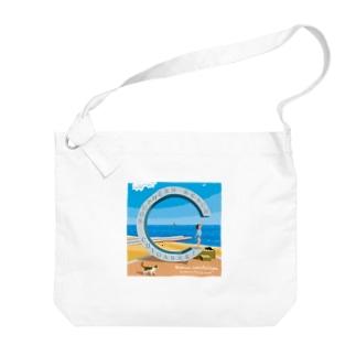 湘南デザイン室:Negishi Shigenoriの湘南ランドスケープ06: 届くかな...サザン C Big shoulder bags