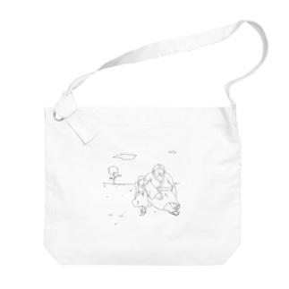 sumo girl Big shoulder bags
