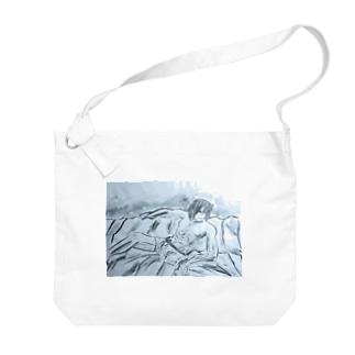 アース Big shoulder bags