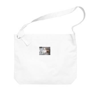 パタパタ耳のジンジャー  Big shoulder bags