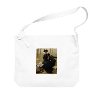 ヴィットリオ・マッテオ・コルコス 《リュクサンブール公園での会話》 Big shoulder bags