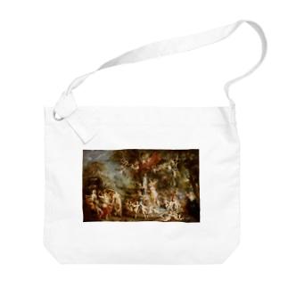 ピーテル・パウル・ルーベンス 《ヴィーナスの饗宴》 Big Shoulder Bag