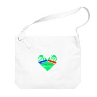 Hot Kiss~ホッチキス~ Big shoulder bags