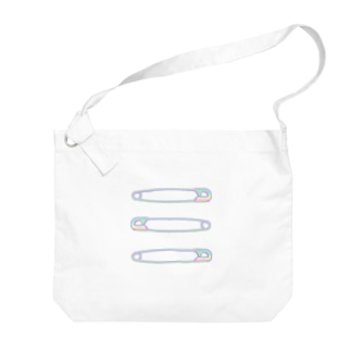 【ADDITIVITY】 セーフティーピン 3 #HOLO Big shoulder bags