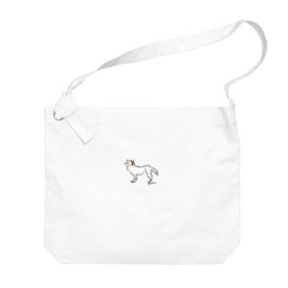 ohkami オレンジリボン Big Shoulder Bag