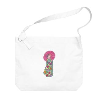 傘の人 Big shoulder bags