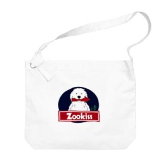 ZOOKISS×グレートピレニーズ Big shoulder bags