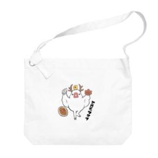 鹿ぶんちょう~ヒロシマラブ~ Big shoulder bags